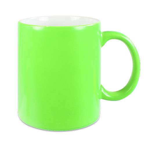 Neontasse in grün