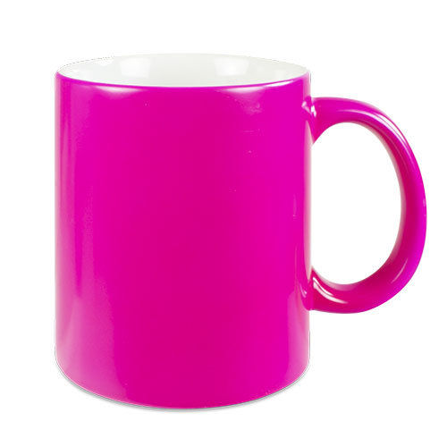 Neontasse in pink